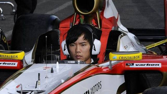 Ma Qing Hua als erster Chinese in einem Formel-1-Cockpit