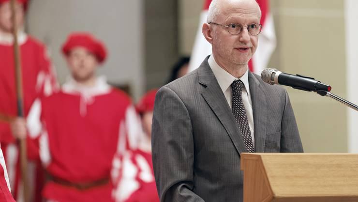 Festredner Dominik Sauerländer, Historiker.