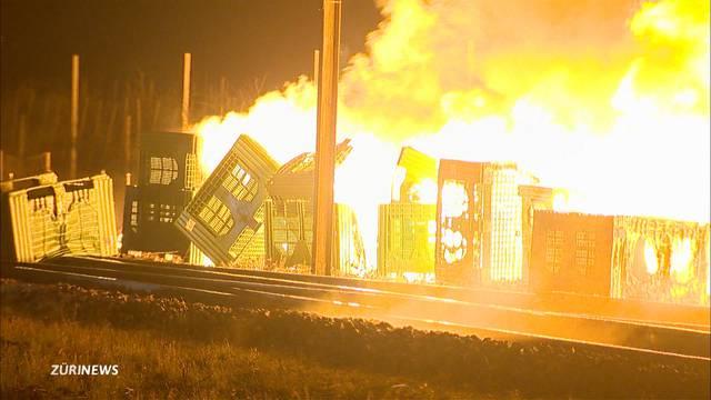 Millionenschaden nach Grossbrand in Egnach