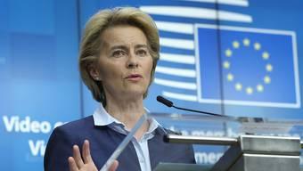 Die EU-Kommissionspräsidentin Ursula von der Leyen will die EU grüner machen. (Archivbild)