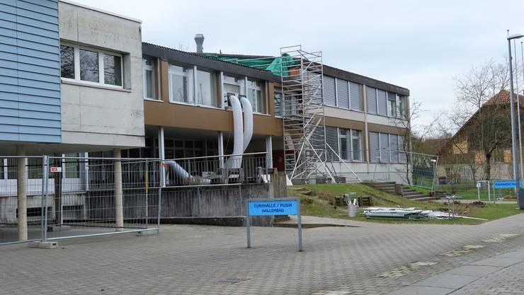 Mit den Bauarbeiten wurde termingerecht begonnen.