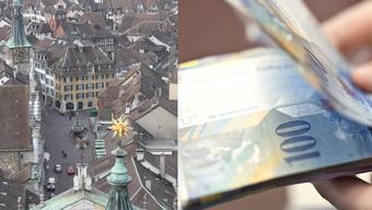 Solothurn Steuern. (Symbolbild)