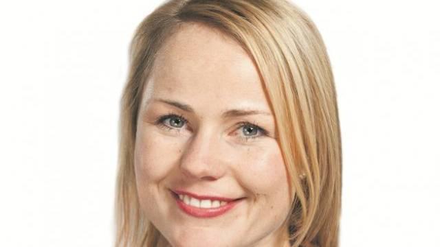 Natalie Rickli ist Nationalrätin der SVP des Kantons Zürich. Foto: Gaetan Bally - Keystone