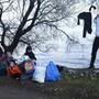 Sie warten aufs Weiterkommen: Flüchtlinge an der türkisch-griechischen Grenzregion. (Bild: Keystone)