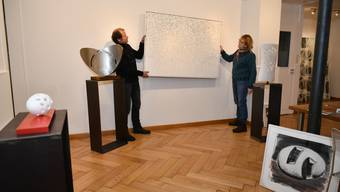 Ausstellung von Marc Reist in Büren