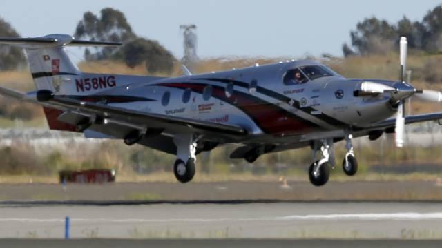 Eine PC-12 NG hebt in Kalifornien ab (Symbobild)