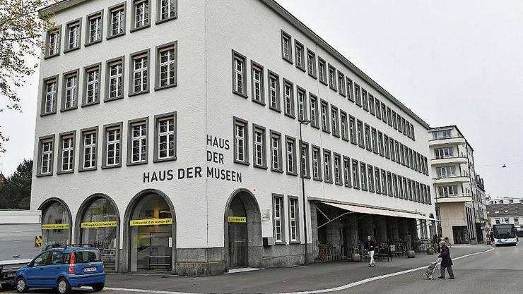 So präsentiert sich das Haus der Museen an der Konradstrasse.