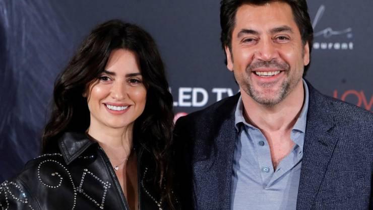 Sie sind an der Eröffnung der Filmfestspiele in Cannes gemeinsam auf der Leinwand zu sehen: Penelope Cruz und Javier Bardem. (Archivbild)