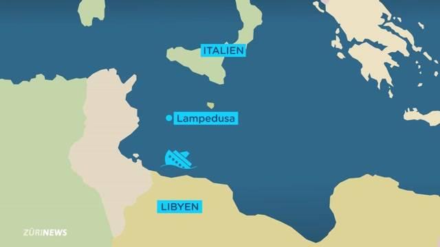 Schlimmstes Bootsdrama im Mittelmeer