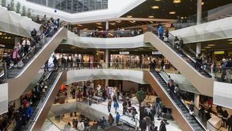 Blick in die Mall of Switzerland.
