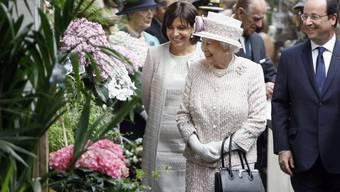Der Pariser Blumenmarkt wird nach der Queen benannt