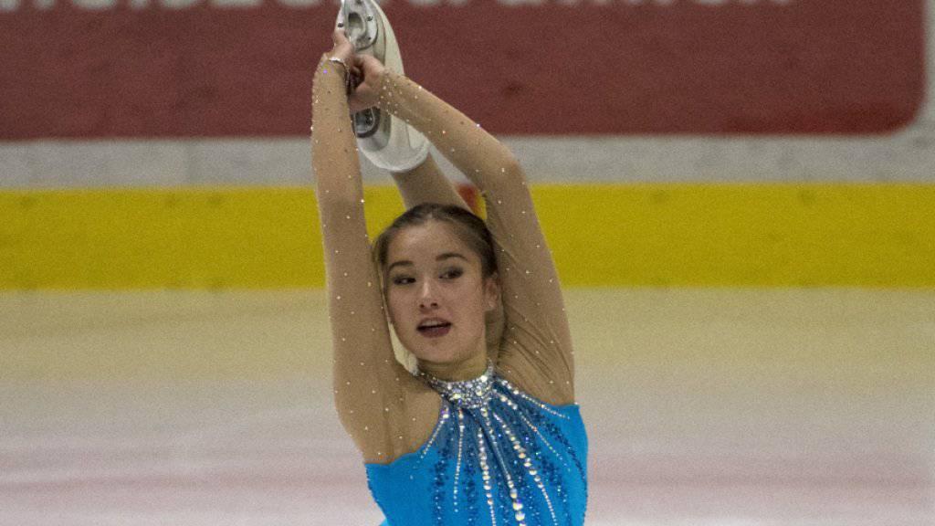 Yasmine Yamada gewinnt erstmals die Schweizer Meisterschaften