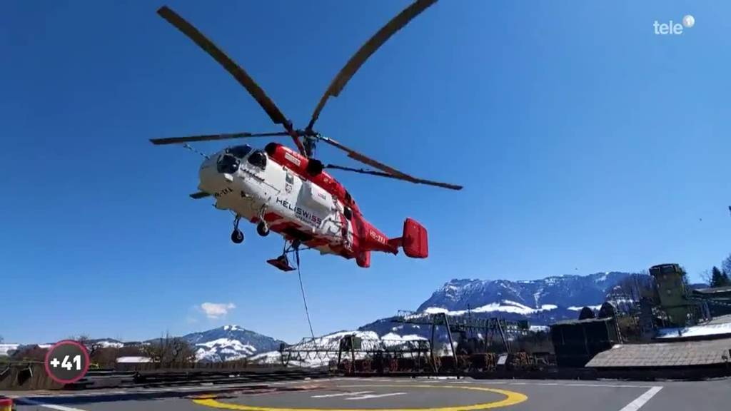 Fünf Tonnen sind für den grössten Helikopter Europas kein Problem