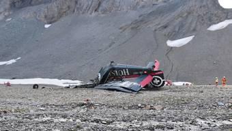 Vor einem Jahr stürzte am Piz Segnas  in Graubünden eine historische Ju-52 der Dübendorfer Ju-Air ab. Die Suche nach der Absturzursache dauert weiter an.