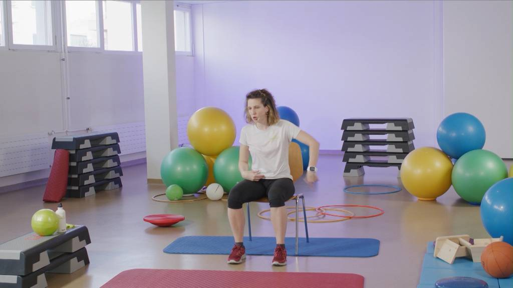 «Gymnastik im Wohnzimmer» vom 14. April 2021
