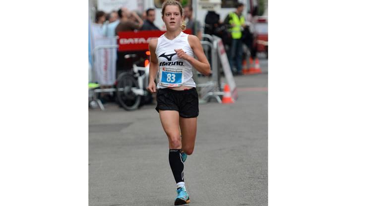 Sieger bei den Frauen: Maya Chollet aus Palézieux.