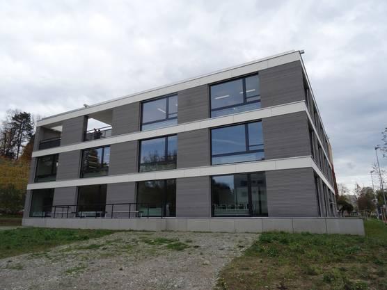 Ansicht des Neubaus Schulhaus Allmend