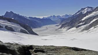 Blick auf den Aletschgletscher (Archiv)