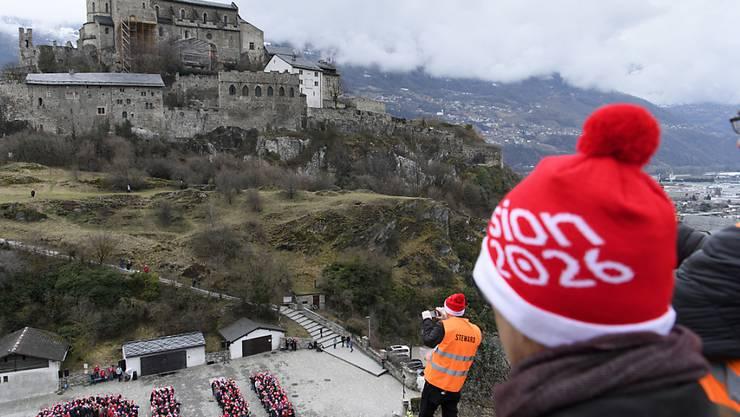 Die Stadtregierung von Sitten unterstützt die Kandidatur für die Olympischen Winterspiele 2026.