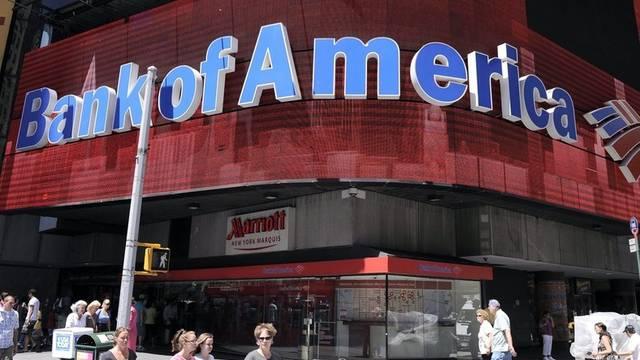 Wegen der Folgen der Hypothekenkrise hat die Bank of America im 2. Quartal einen herben Verlust eingefahren (Archiv)