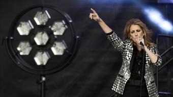Céline Dion ist immer dann am stärksten, wenn sie singt, was ihre Fans am meisten lieben: Powerballaden.Anthony Anex/Keystone
