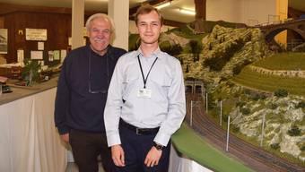 In ihrem Reich: Robert Michel (links) und Christof Perren.