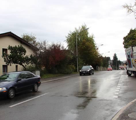 Unterdorfstrasse: Drei Abschnitte, zusammen 104 Meter.