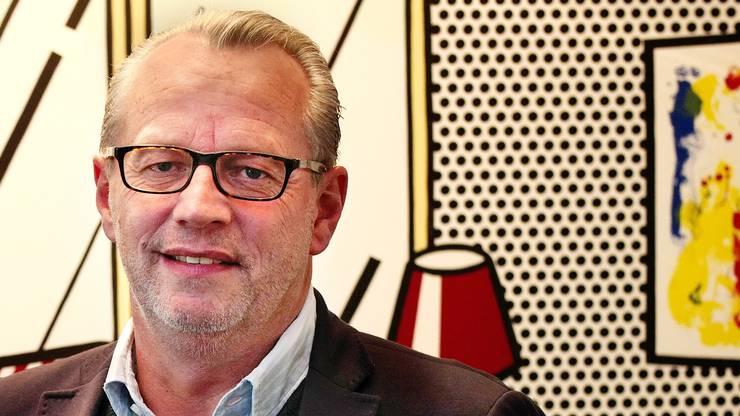 Michael Bornhäusser, der Chef: «Wir wollen das Primärmedium sein.»