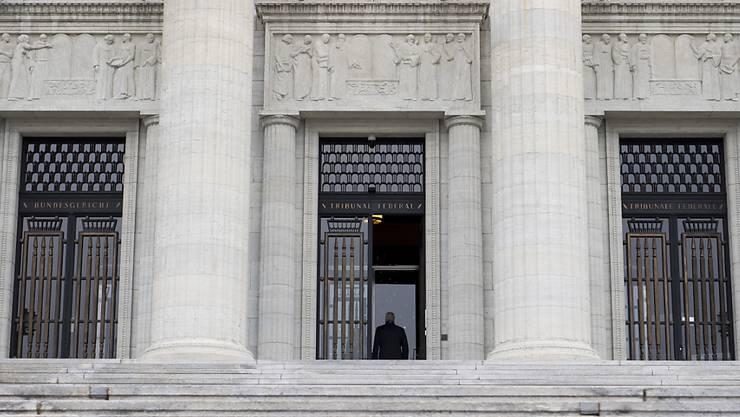 Bundesgericht in Lausanne: Die Richter sehen im Fall des mutmasslichen Winterthurer Dschihadisten einen dringenden Tatverdacht sowie Verdunkelungsgefahr.