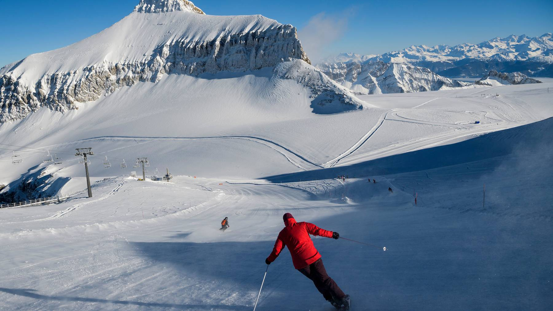 Schweiz Tourismus will informieren, wo noch Wintersport betrieben werden darf und wo nicht. (Symbolbild)