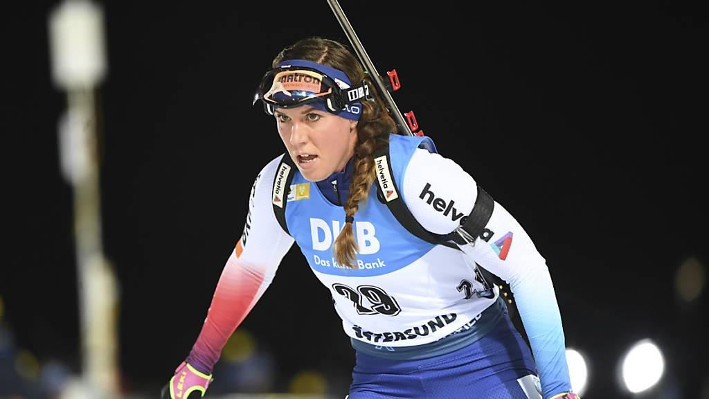 Schweizer Frauen-Staffel steht auf dem Weltcup-Podest
