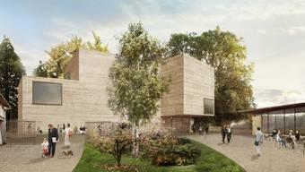 Erweiterungsbau der Fondation Beyeler von Peter Zumthor