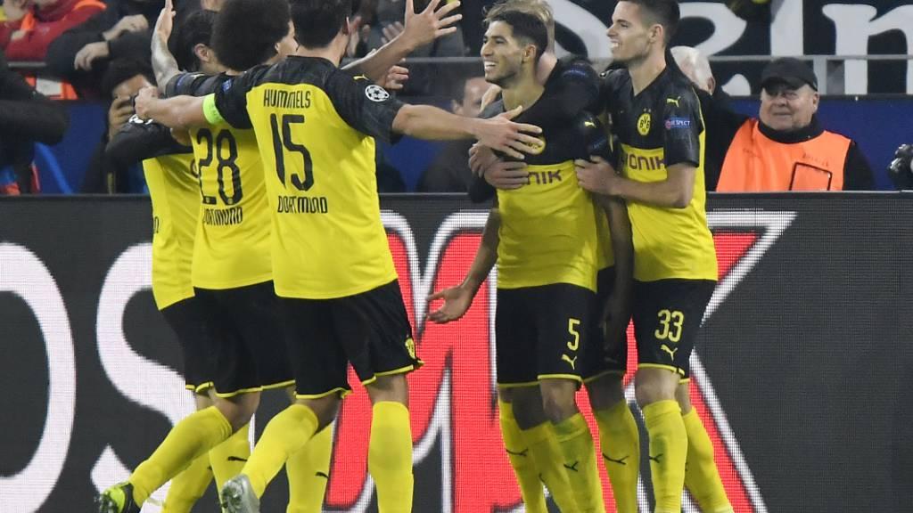 Nach einem 0:2-Rückstand dreht Borussia Dortmund nach der Pause auf und bezwingt Inter Mailand daheim 3:2