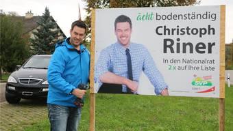 SVP-Grossrat Christoph Riner stellt Bedingungen für eine Aufenthaltsbewilligung infrage. (Bild: dka)