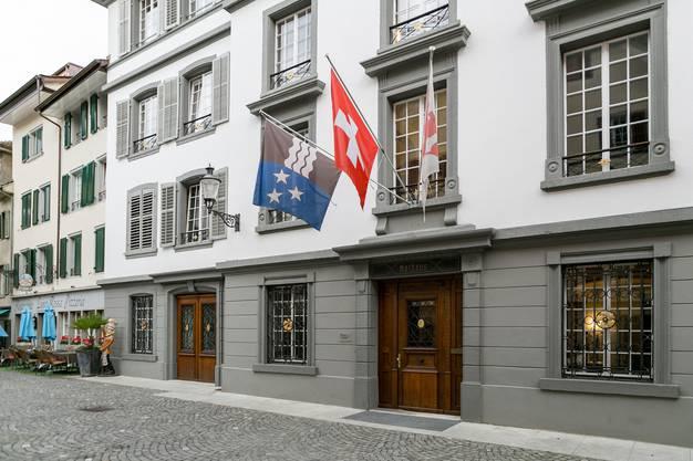 Das Bezirksgericht in Bremgarten.
