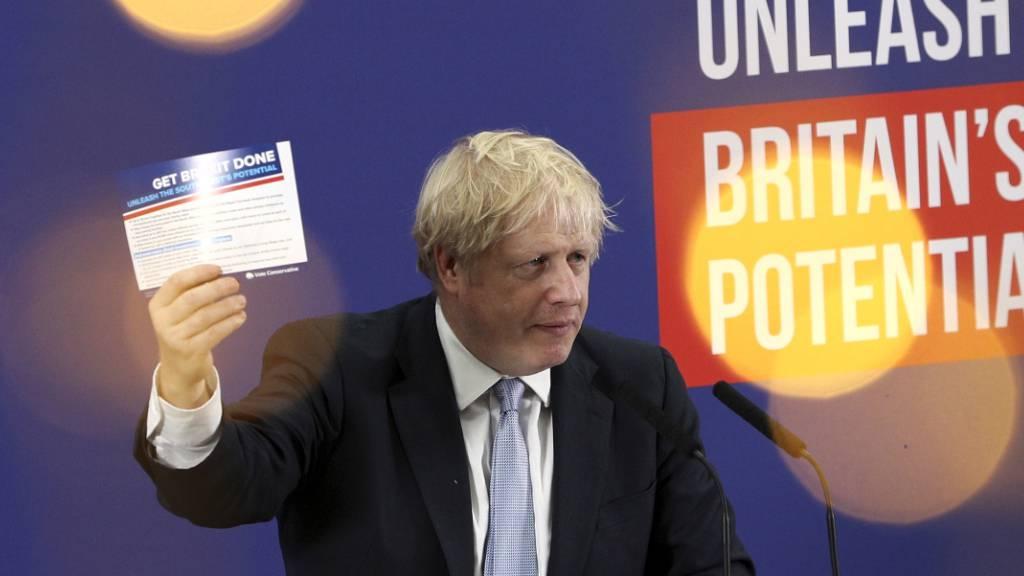 Umfrage: Briten mehrheitlich für Boris Johnson
