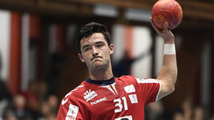 Claudio Vögtli ist mit 5,2 Treffern pro Partie aktueller Topskorer des TV Endingen.