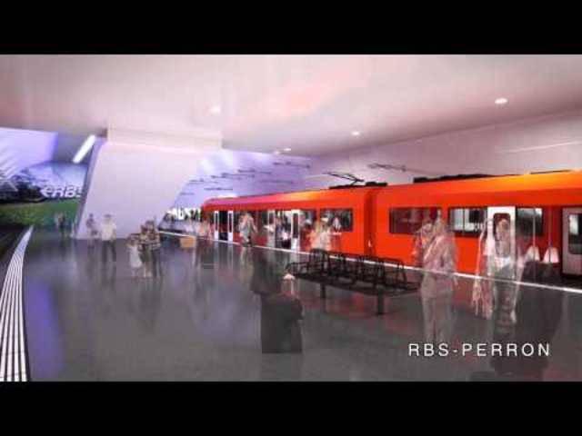 Der RBS führt auf einer virtuellen Tour durch den neuen Bahnhof Bern 2025