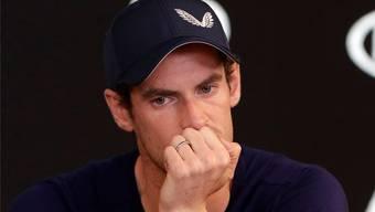 Andy Murray zieht spätestens im Sommer einen Schlussstrich.