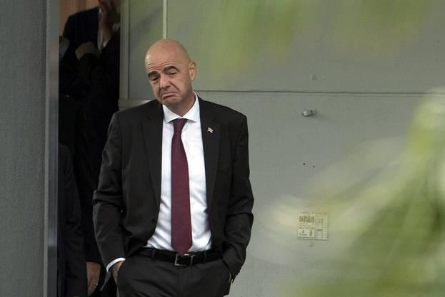 «Nicht meine Sache, was der Bundesanwalt protokolliert und was nicht», sagt Gianni Infantino.