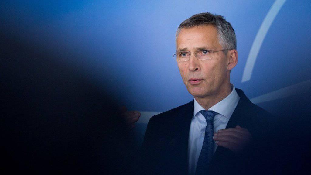 NATO-Generalsekretär Jens Stoltenberg möchte eine stärkere Zusammenarbeit des Atlantischen Bündnisses mit Südkorea. (Archivbild)