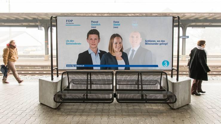 Bekannte Namen, neue Gesichter: Mit Pascal Geistlich (links) kandidiert der Enkel der ehemaligen Stadtpräsidentin Rita Geistlich. Fiona Stiefel ist die Tochter der aktuellen Präsidiumskandidatin Manuela Stiefel.