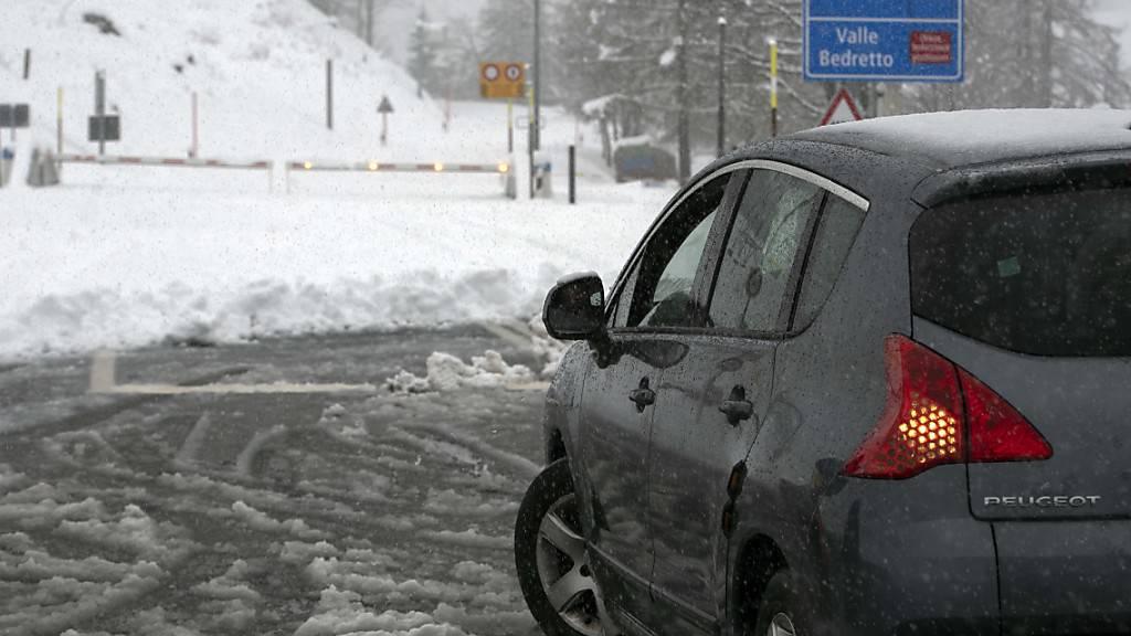 50 cm Neuschnee in den Alpen