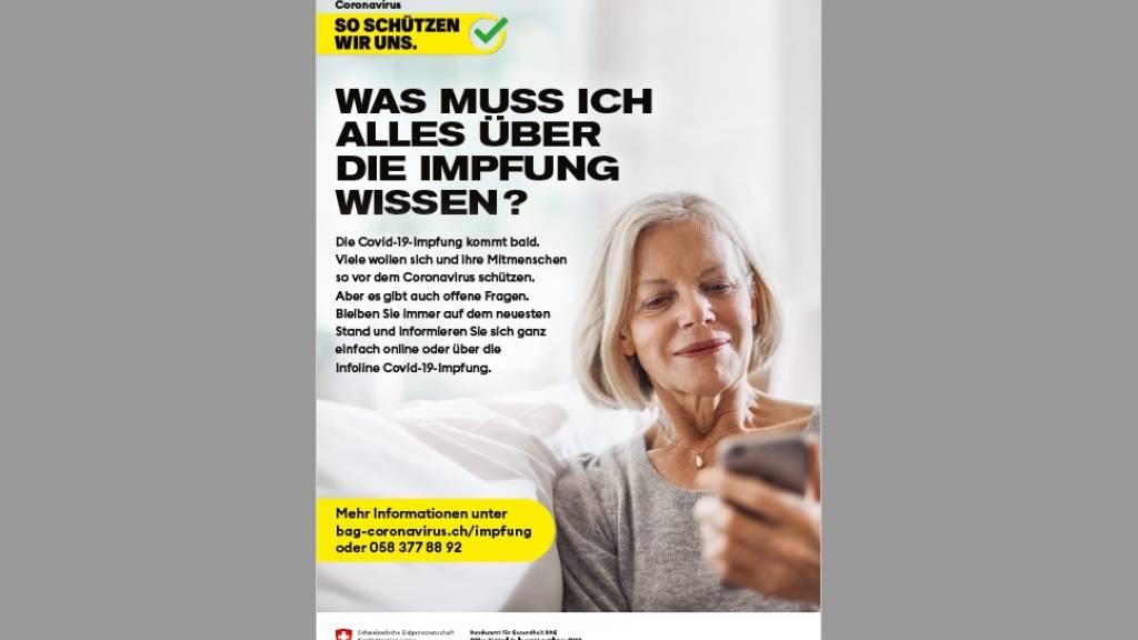 Plakate, Webseite und Hotline: Bund startet Impfkampagne