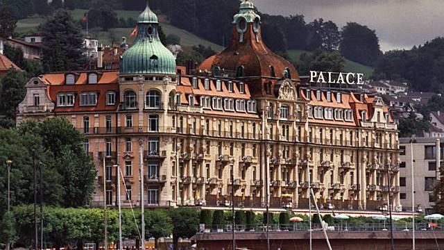 Luxushotel Palace in Luzern (Archiv)