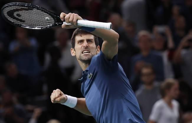 Die besten Bilder vom Match Federer vs. Djokovic