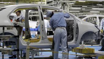 Autobauer wie Toyota (im Bild) leiden unter den Folgen des Erdbebens