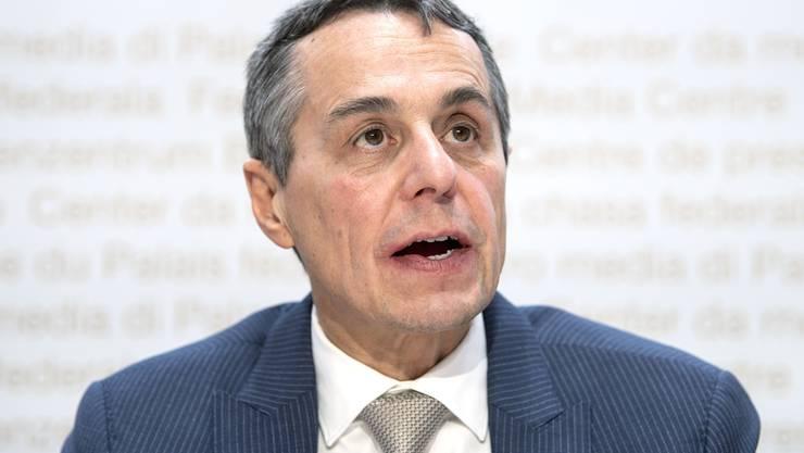 Bundesrat Ignazio Cassis' heutiger Besuch in seinem Heimatkanton hatte auch eine symbolische Note.