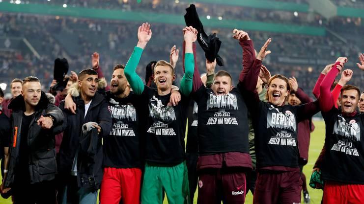 Eintracht Frankfurt steht im DFB-Pokal-Final.