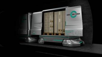 «Cargo Sous Terrain» ist einen Schritt weiter. Der Bundesrat will das Projekt vorantreiben.